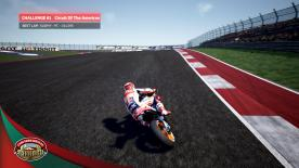 The opening challenge for the 2018 MotoGP? eSport Championship saw competitors aiming to set the fastest lap around the stunning 5.5km Circuit of the Americas in Texas on Marc Marquez' Honda RC213V