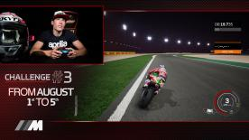 What is the quickest way around the Losail International Circuit in Doha? Aprilia's Aleix Espargaro gives us an insight on MotoGP™18