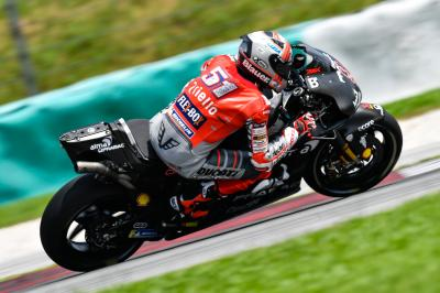 How important are competitive test riders in MotoGP™?
