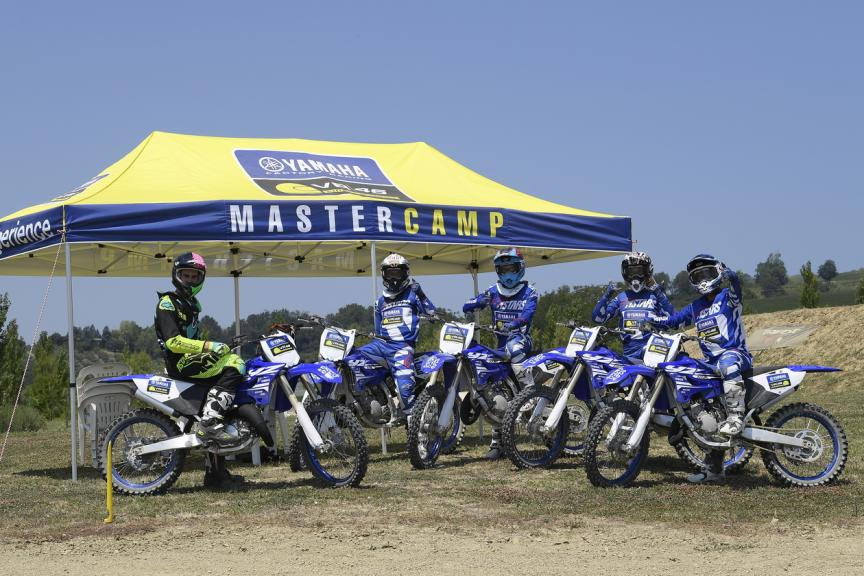 The Master Camp Students Ride at Misano with Rossi on Day 4