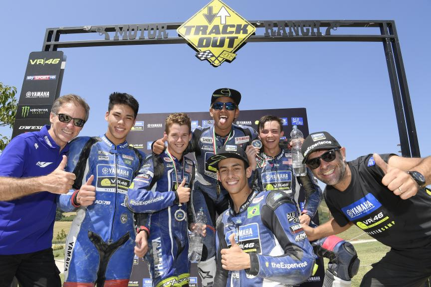 Fifth Edition Yamaha VR46 Master Camp Students Finish Programme on Day 5