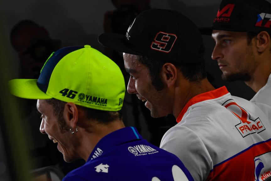 Danilo Petrucci, Valentino Rossi, Monster Energy Grand Prix České republiky