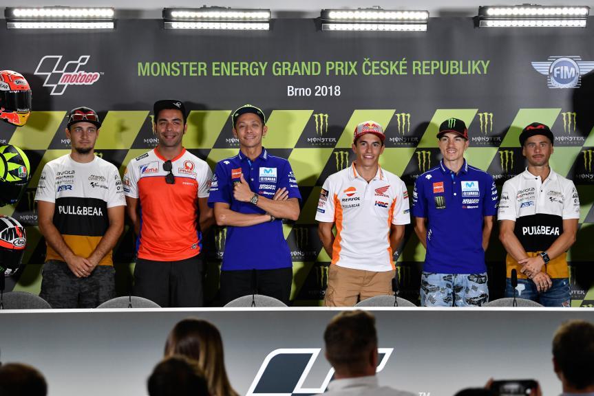 Press-Conference, Monster Energy Grand Prix České republiky