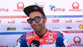 A Brno il pilota Ducati porta in pista una nuova soluzione aerodinamica ma soffre il consumo delle gomme
