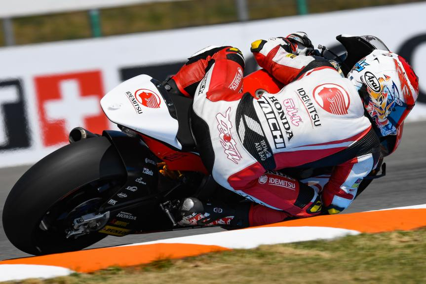 Tetsuta Nagashima, Idemitsu Honda Team Asia, Monster Energy Grand Prix České republiky