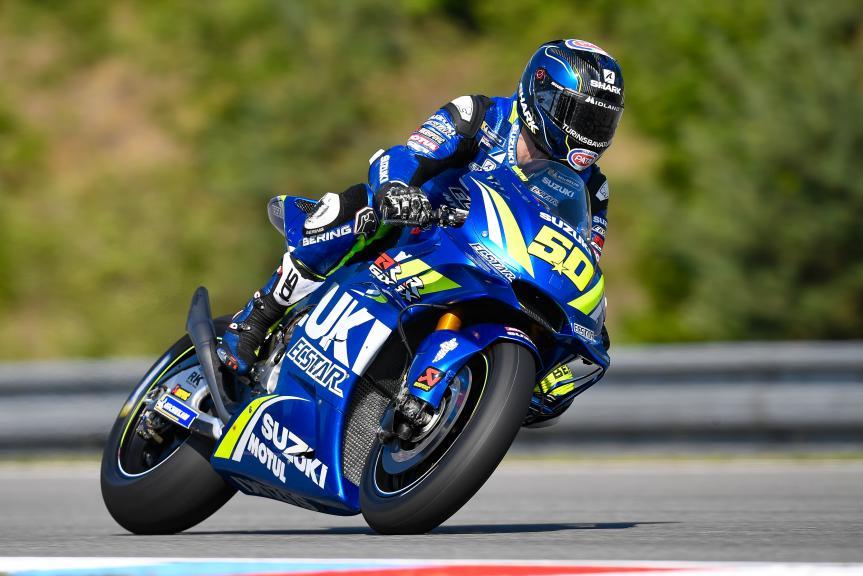 Sylvain Guintoli, Team Suzuki Ecstar, Monster Energy Grand Prix České republiky