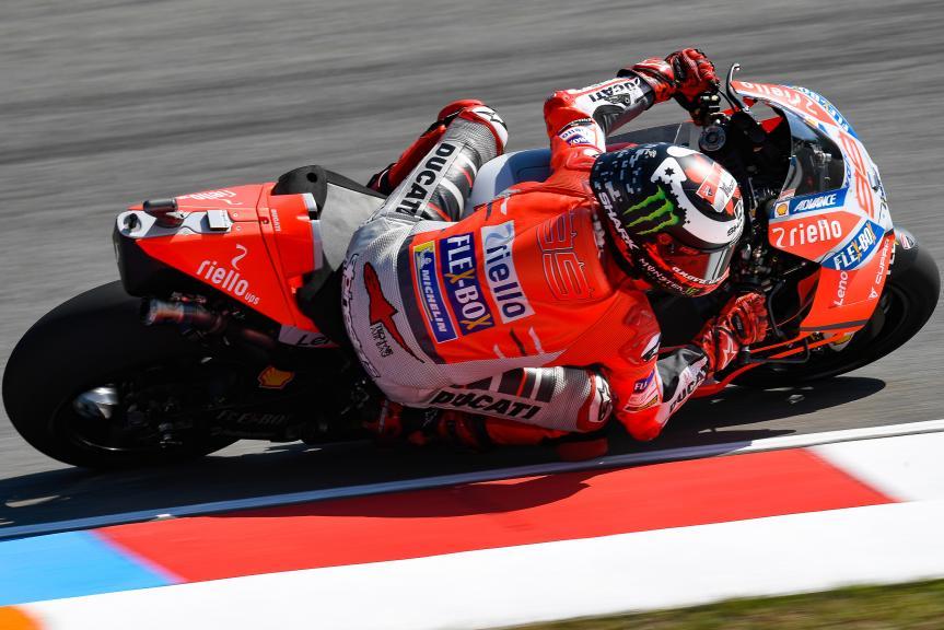 Jorge Lorenzo, Ducati Team, Monster Energy Grand Prix České republiky