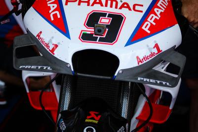 """No negatives"" for new fairing - Petrucci"