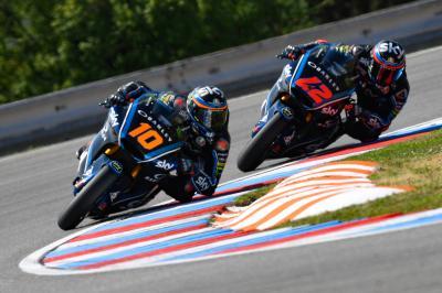 Brno : Sky Racing Team VR46 mène la danse en FP3