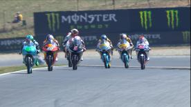 All the Moto3™ qualifying action from the Automotodrom Brno. Watch as the lightweight class battle for their grid positions in the Czech GP
