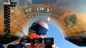 Rivivi le fasi più calde nella lotta per la pole position a Brno. Una delle Q2 migliori di sempre