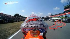 Relive the Ducati Rider's pole-winning lap at the Automotodrom Brno