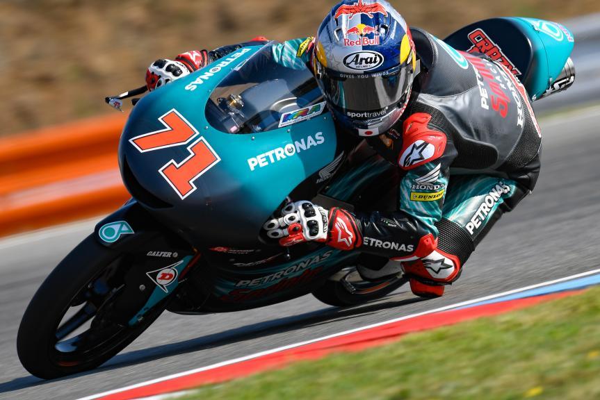Ayumu Sasaki, Petronas Sprinta Racing, Monster Energy Grand Prix České republiky