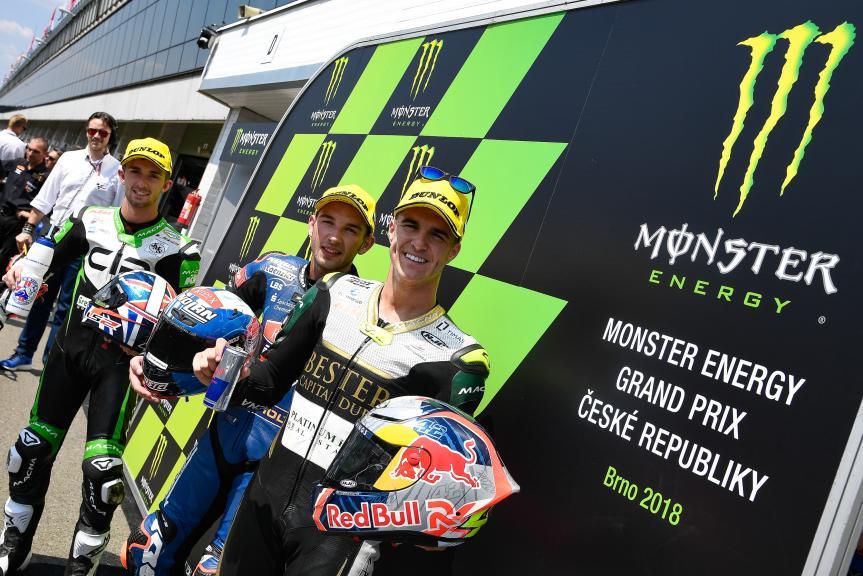 Jakub Kornfeil, John Mcphee, Marcos Ramirez, Monster Energy Grand Prix České republiky