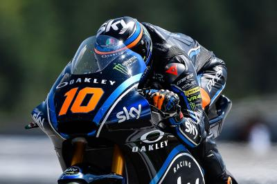Marini marks maiden pole in Brno