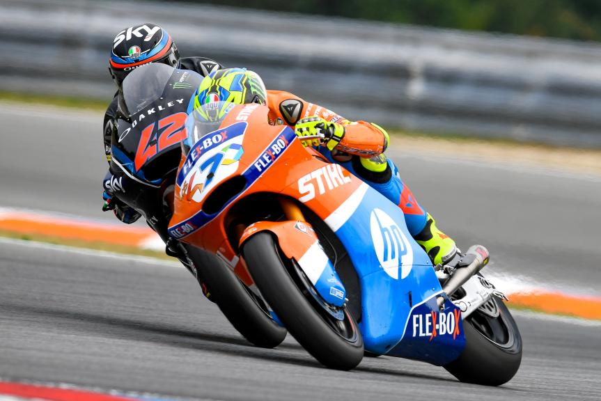 Lorenzo Baldassarri, Pons HP40, Francesco Bagnaia, Sky Racing Team VR46, Monster Energy Grand Prix České republiky