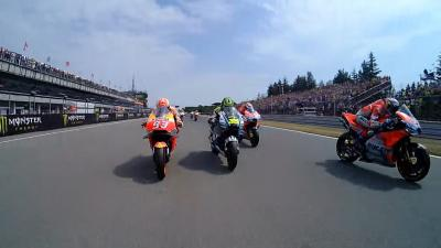 GRATIS Video: Start zum Czech GP Onboard mit Rossi