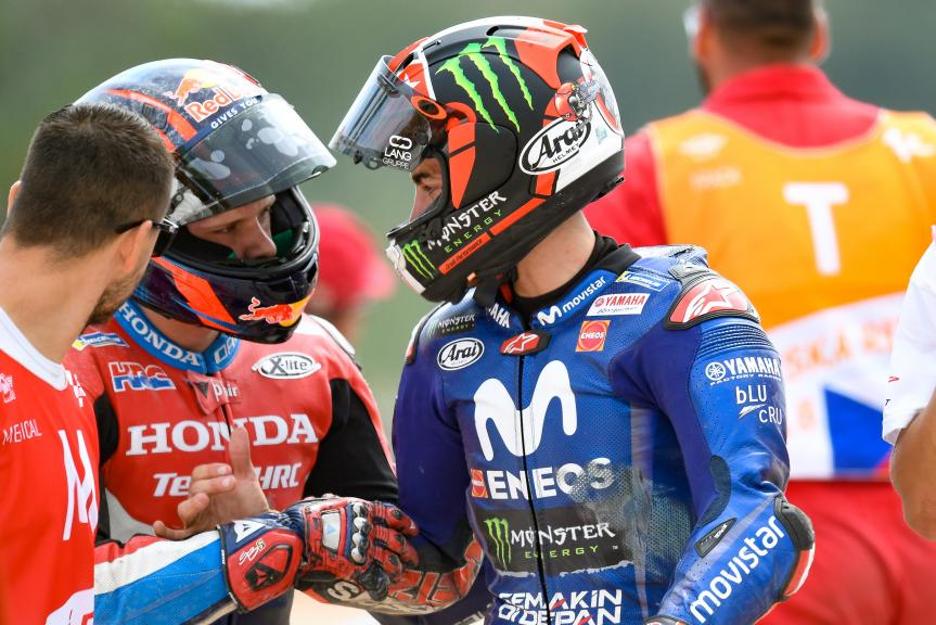 Maverick Viñales, Movistar Yamaha MotoGP, Stefan Bradl, HRC Honda Team, Monster Energy Grand Prix České republiky
