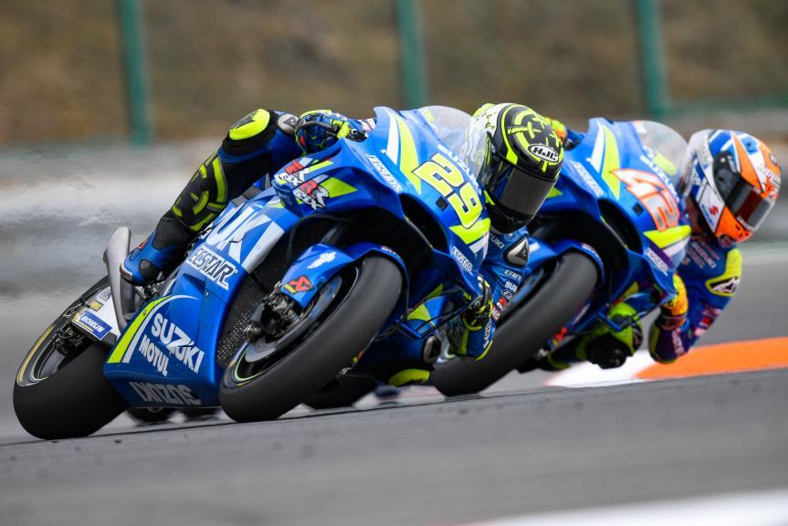 Andrea Iannone, Alex Rins, Team Suzuki Ecstar, Monster Energy Grand Prix České republiky