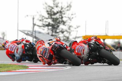 Dovi vs Lorenzo vs Marquez: words from the Brno battle