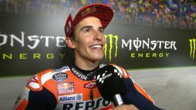 GP della Repubblica Ceca, Marquez chiude come terzo dietro alla lotta Ducati. Resta leader in campionato