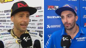We catch up with the MotoGP™ riders to get their thoughts after the thrilling race at Brno