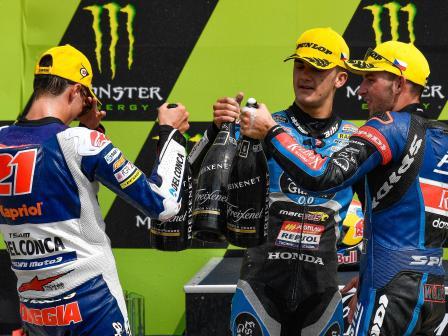 Moto3, Race, Monster Energy Grand Prix České republiky