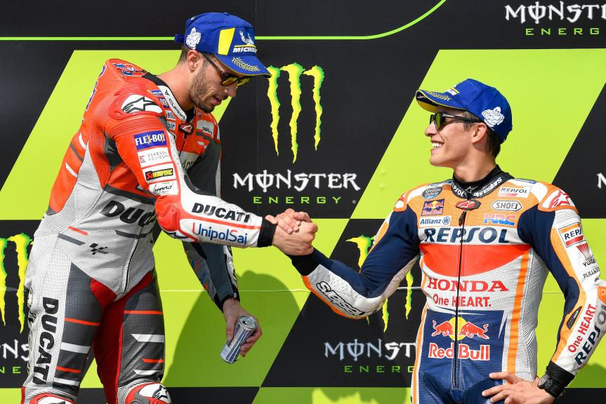 Andrea Dovizioso, Marc Marquez, Monster Energy Grand Prix České republiky