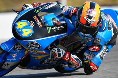 Canet clear leader in Moto3™ Warm Up