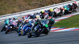 The full race session of the Moto3™ World Championship at Brno