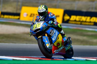 Moto2™ : Mir brille au warm-up