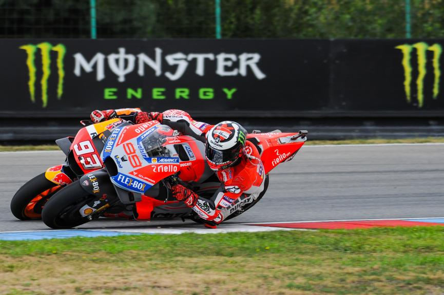 Jorge Lorenzo, Ducati Team, Marc Marquez, Repsol Honda Team, Monster Energy Grand Prix České republiky