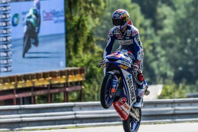 Splendido Di Giannantonio, vince la sua prima gara in Moto3™