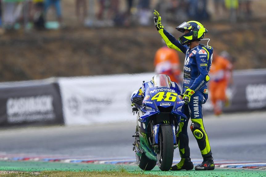Valentino Rossi, Movistar Yamaha MotoGP, Monster Energy Grand Prix České republiky