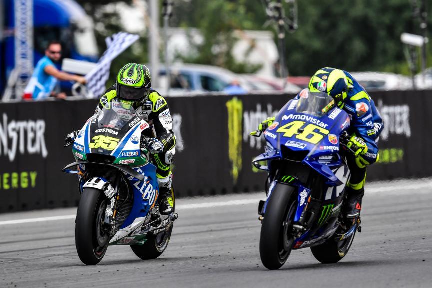 Cal Crutchlow, LCR Honda Castrol, Valentino Rossi, Movistar Yamaha MotoGP, Monster Energy Grand Prix České republiky