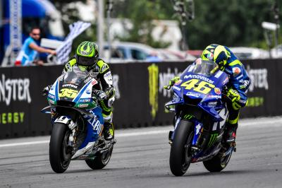 """Crutchlow: """"I ran out of rear tyre"""""""