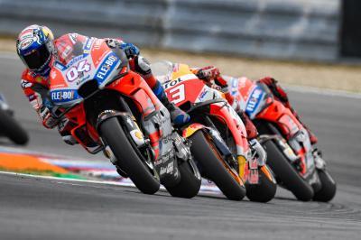 El podio de Brno fue... el 3.º más igualado de la historia
