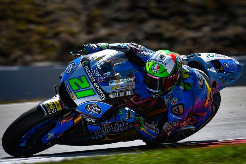 Franco Morbidelli, Eg 0,0 Marc VDS, Czech Republic MotoGP Official Test
