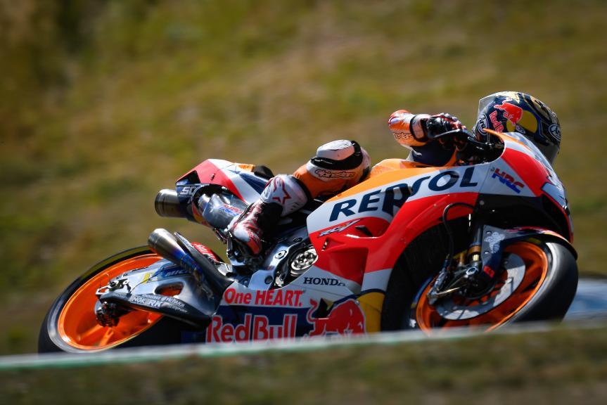 Dani Pedrosa, Repsol Honda Team, Czech Republic MotoGP Official Test