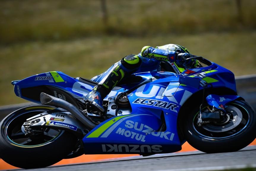 Andrea Iannone, Team Suzuki Ecstar, Czech Republic MotoGP Official Test
