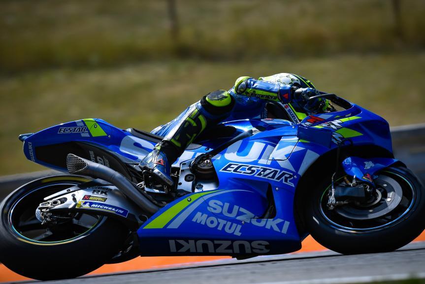 Andrea Iannone, Team Suzuki Ecstar, Czech Republic MotoGP Official Test