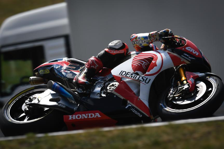 Takaaki Nakagami, LCR Honda Idemitsu, Czech Republic MotoGP Official Test