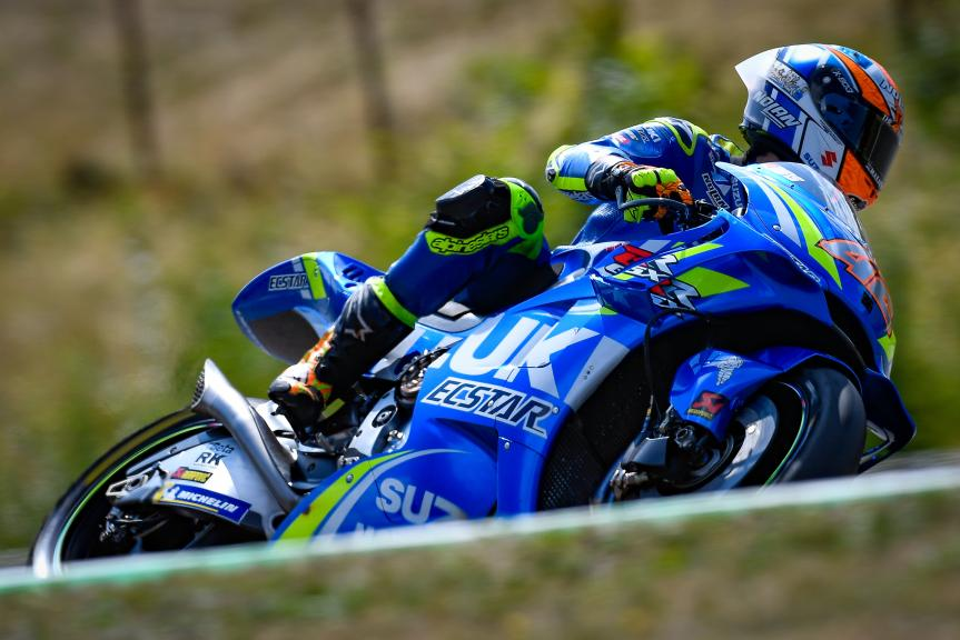 Alex Rins, Team Suzuki Ecstar, Czech Republic MotoGP Official Test