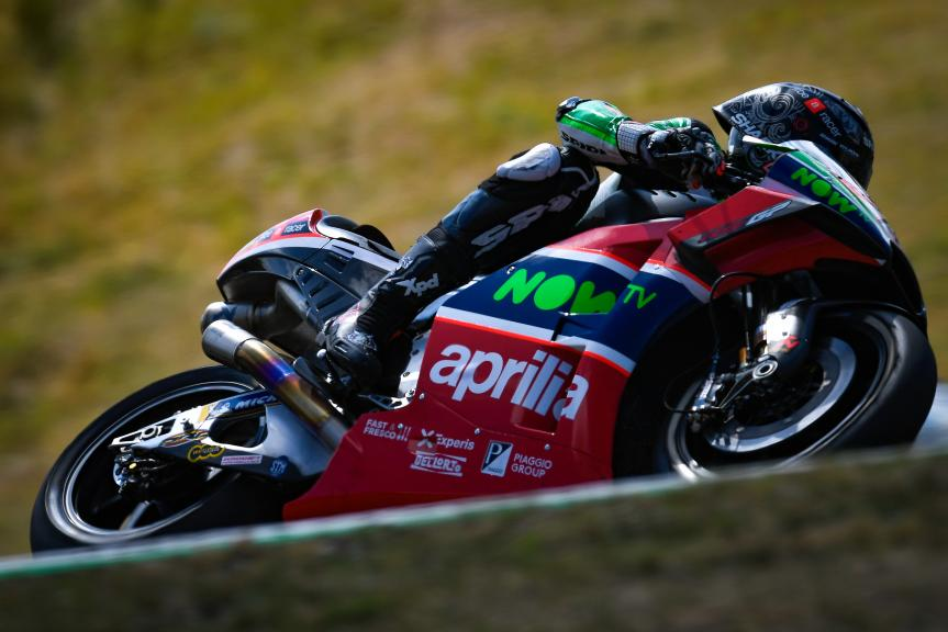 Scott Redding, Aprilia Racing Team Gresini, Czech Republic MotoGP Official Test