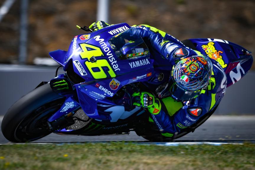 Valentino Rossi, Movistar Yamaha MotoGP, Czech Republic MotoGP Official Test
