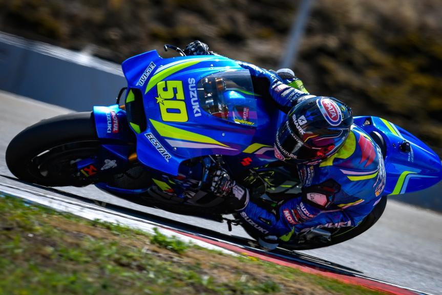 Sylvain Guintoli, Team Suzuki Ecstar, Czech Republic MotoGP Official Test