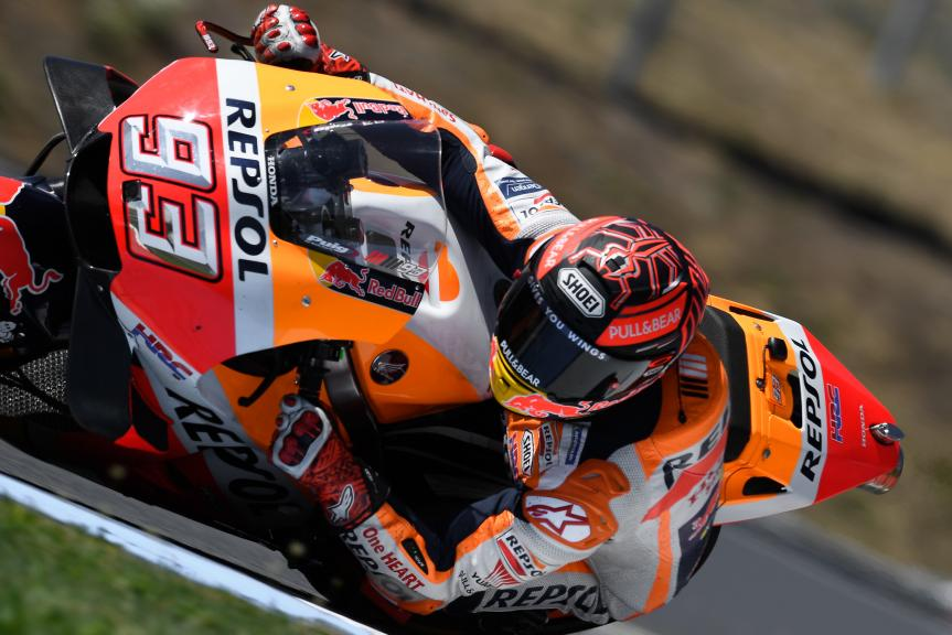 Marc Marquez, Repsol Honda Team, Czech Republic MotoGP Official Test