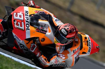 Marquez back on top in Brno test