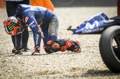 """Viñales: """"The crash is a consequence of being 12th"""""""