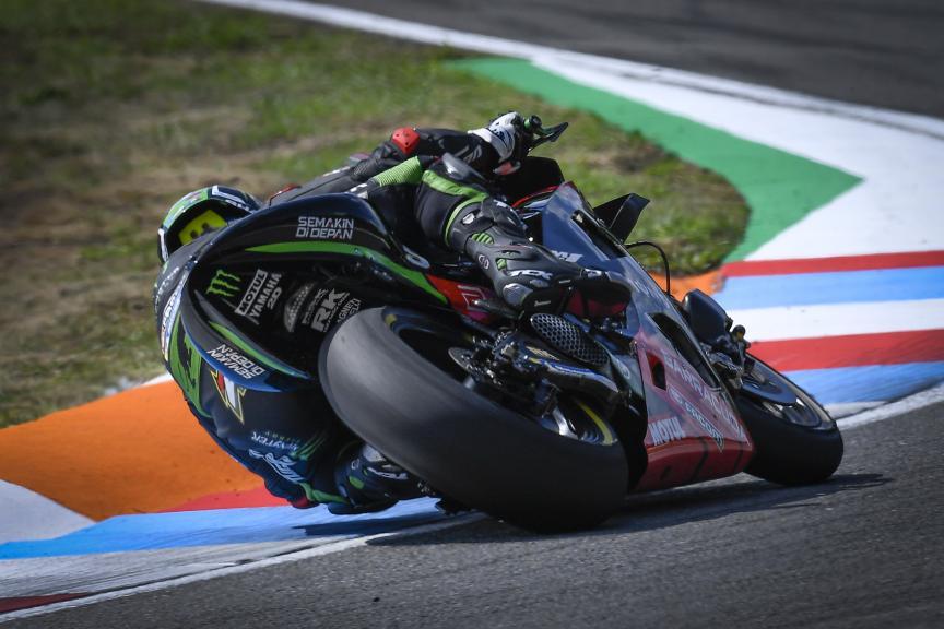 Johann Zarco, Monster Yamaha Tech 3, Czech Republic MotoGP Official Test